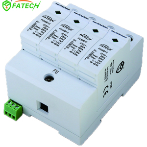 Combination Power Surge Protective Device AC SPD 10/350 30kA T1+T2 B+C 4P
