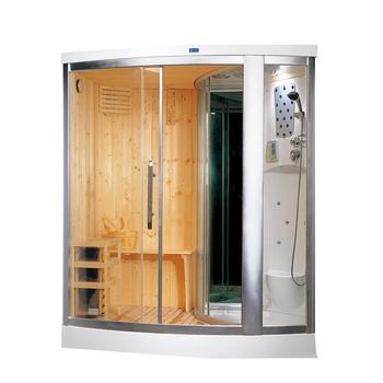 Modieuze Hs-sr1218x Finland Hout Sauna Badkamer Met Douche,Red Cedar ...
