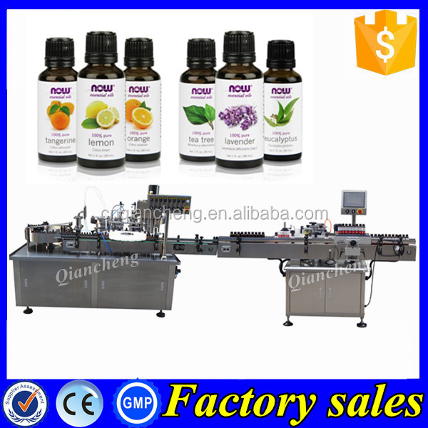 Shanghai factory essential oil filling and capping machine,shanghai liquid filling capping machine