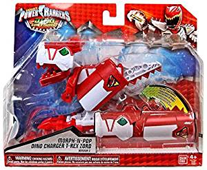 Power Rangers Dino Super Charge - T-Rex Zord Morph-N-Pop Charger (Version 2)