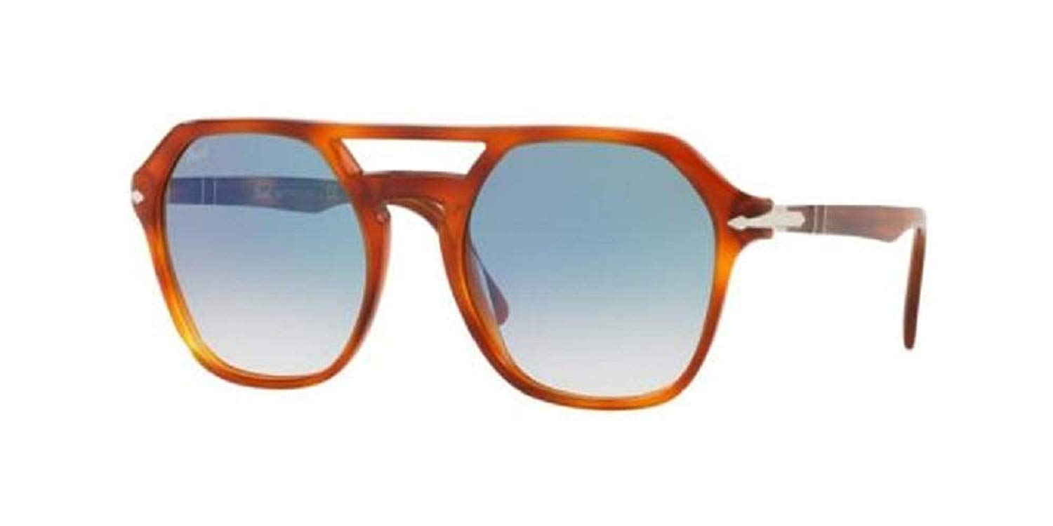 8adc716716 Get Quotations · Persol PO3206S Sunglasses 96 3F-51 - Terra Di Siena Frame