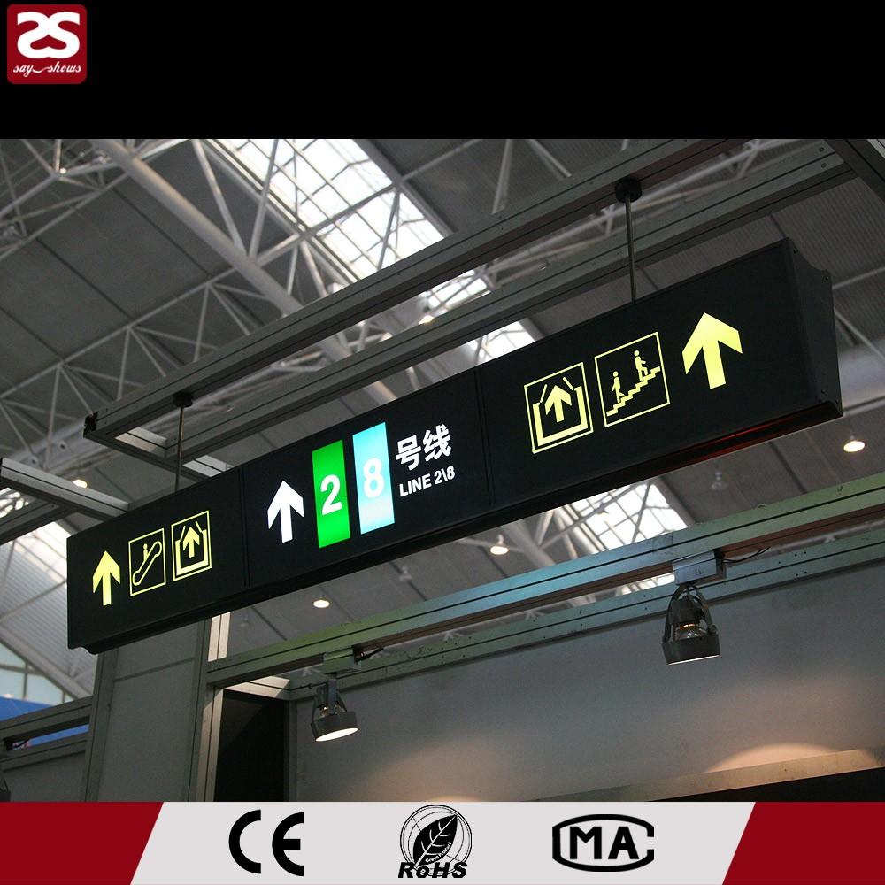 Airport Subway Train Station Supermarket Led Signage