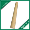 BROWN COLOR PLAIN PRINTING PAPER TUBE PACKAGING WITH CAP
