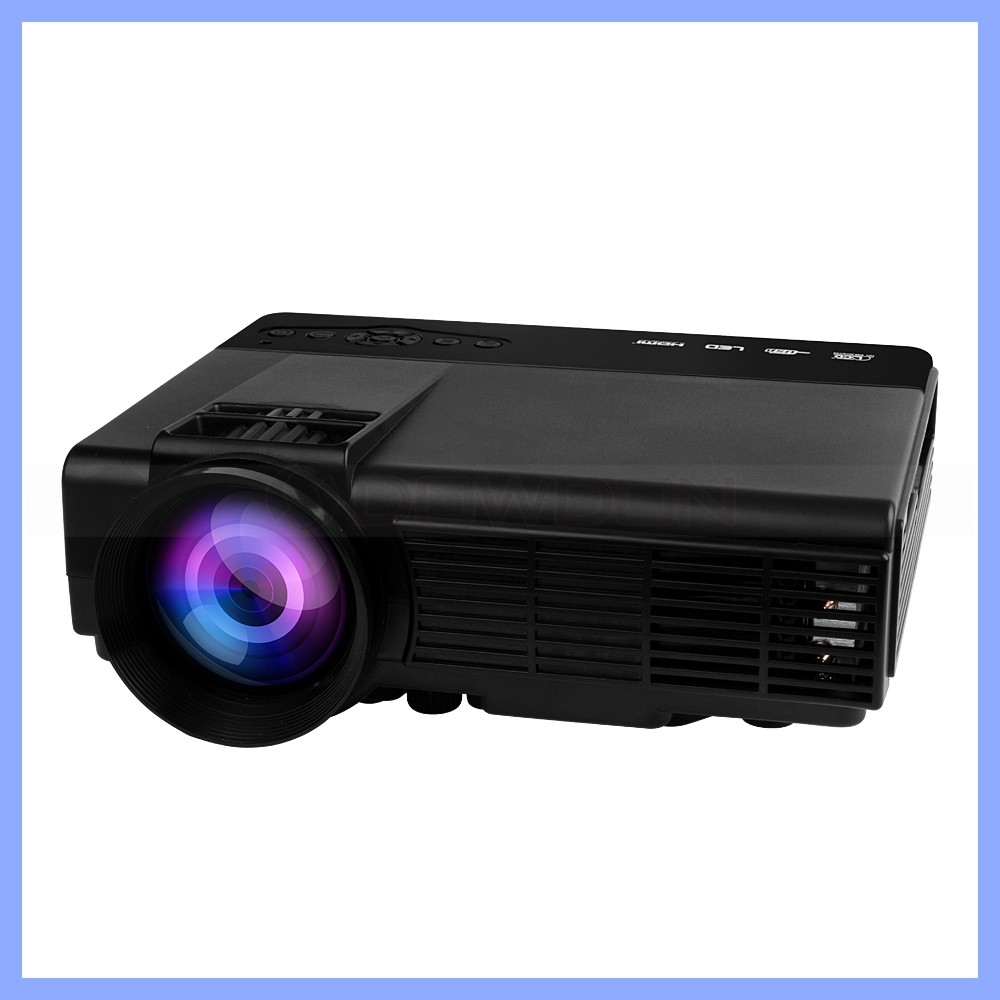 16770K Colors 800 ANSI Lumens TCT LCD Display 1080P HD Portable Mini LED Projector