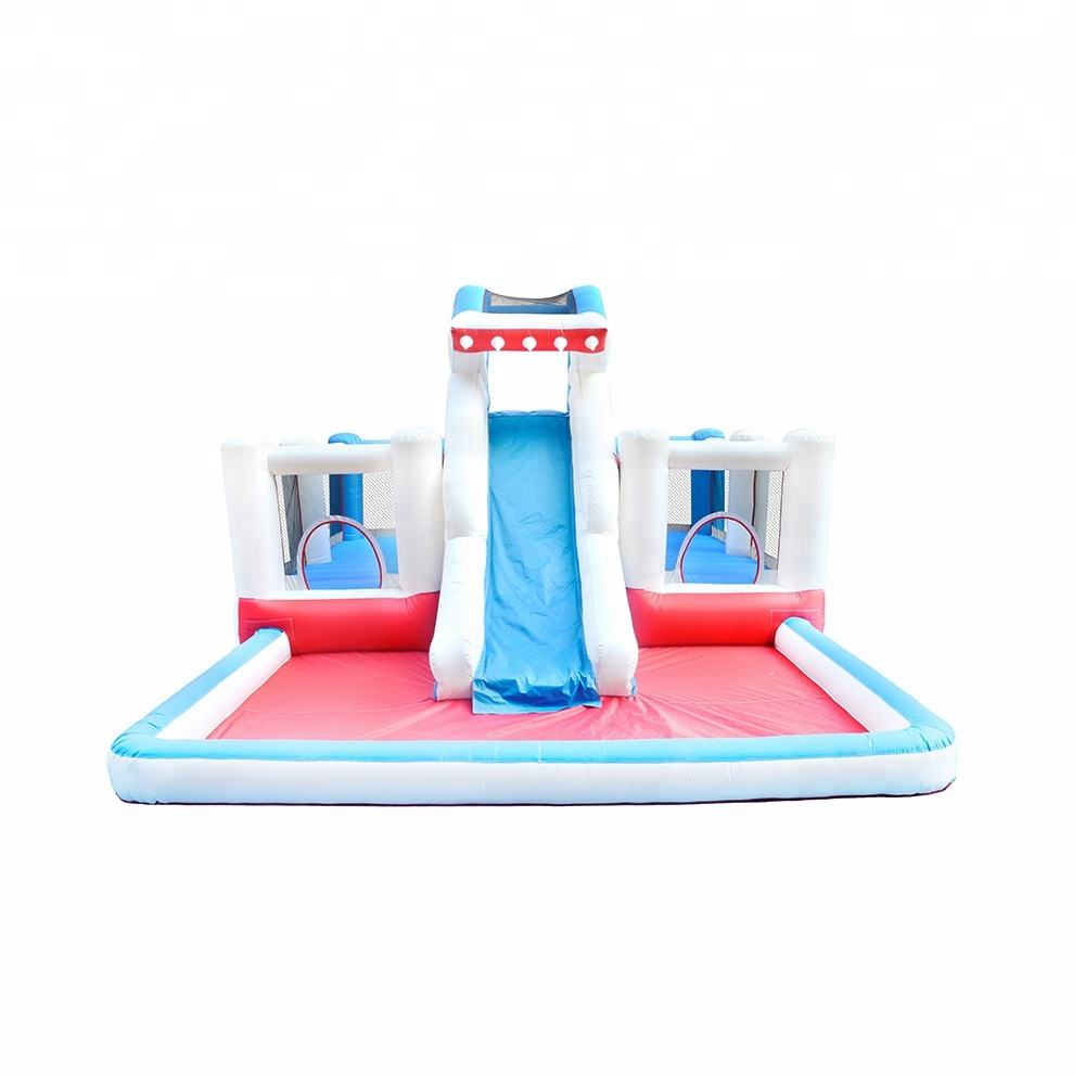 China Factory Price Hot Sale Inflatable Shark Water Slide inflatable slide