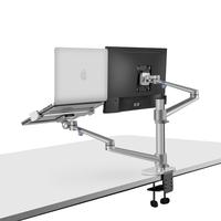 Desktop adjustable  Computer monitor stand Aluminum Alloy  Laptop Monitor Desk Mount Stand