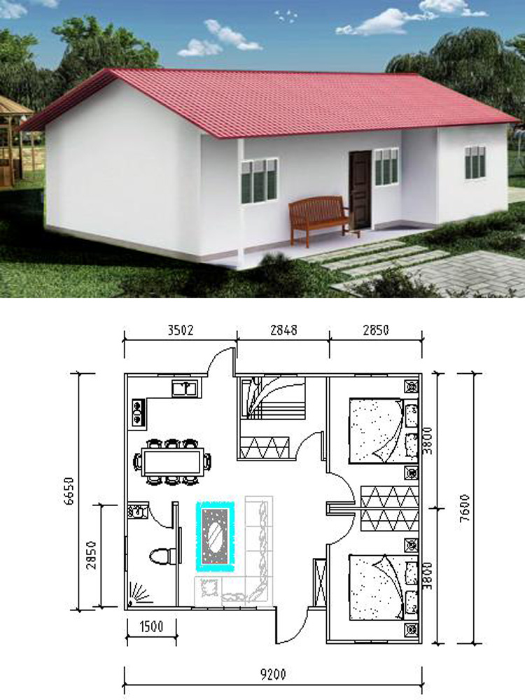 Prefabricated Steel Frame House Modular Homes Design In Nepal Low ...