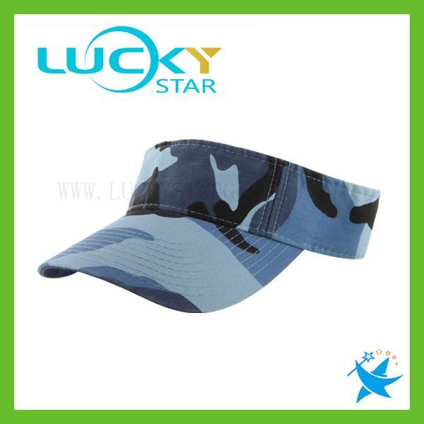 Custom sun visor camouflage cap for men cheap golf sport sun visor hat  china product dd9e9cd82c7
