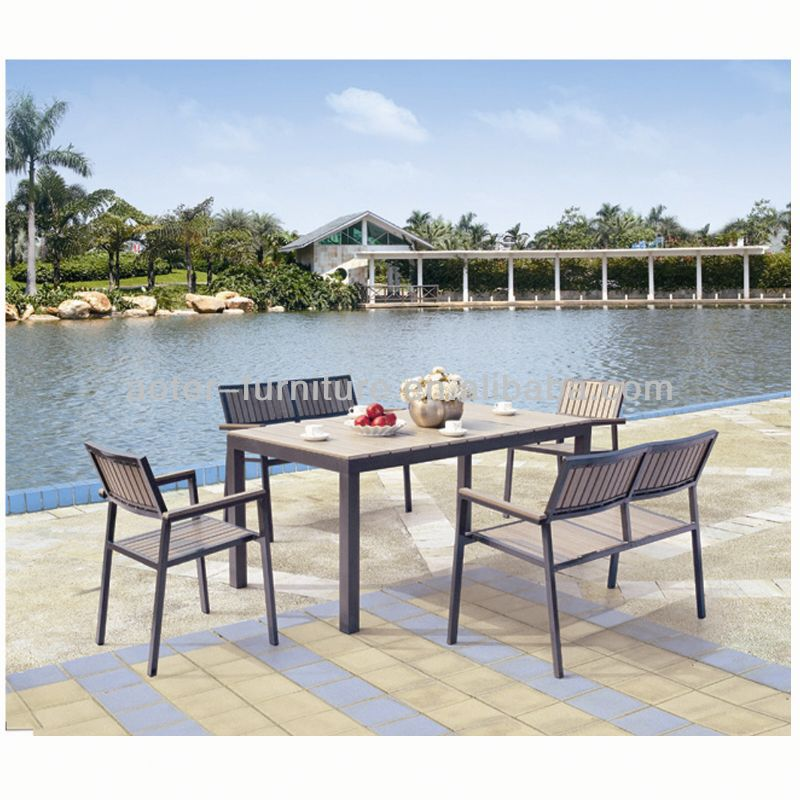 Popular patio dining bistro set