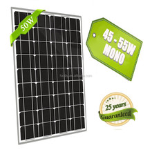 Solar Energy Solar Photovoltaic Module 50wp Poly Solar Pv Module Renewable Energy