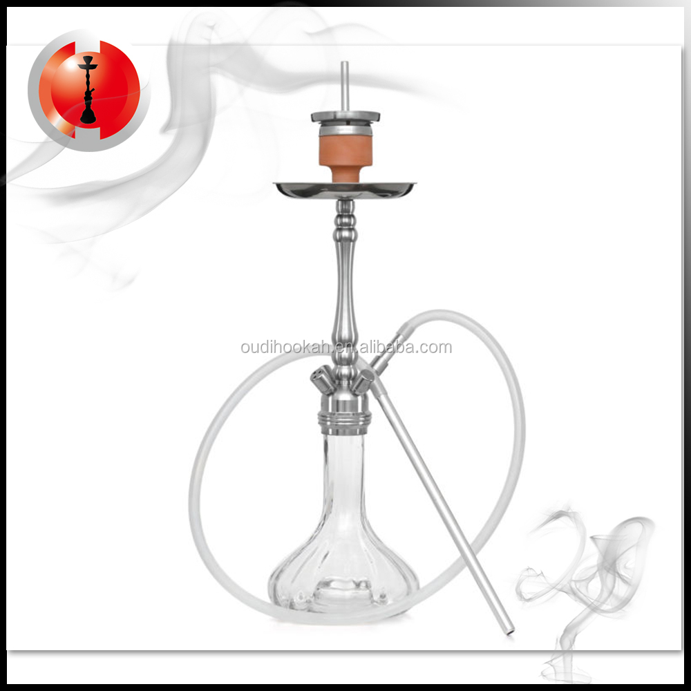304 Stainless steel hookah2018 cilck system Shisha Hookah in china manufacturer