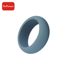 Custom Band Mens Rubber Finger Wedding Soft Silicone thumb Ring