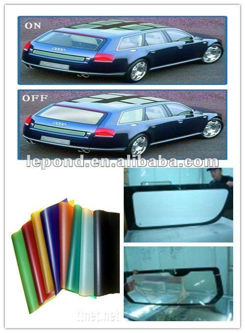 lectrochrome film film de pdlc gradation intelligent teinte fen tre de la voiture verre de. Black Bedroom Furniture Sets. Home Design Ideas