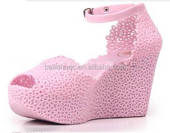 New Design Jelly High Heel Shoes,Newest High Heel Shoe,2014 - Buy ...