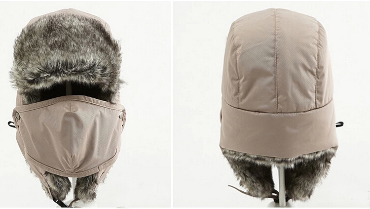 Wholesale-New 2015 Unisex Winter Windproof Hat with Face Mask ... 5ca05047ddd