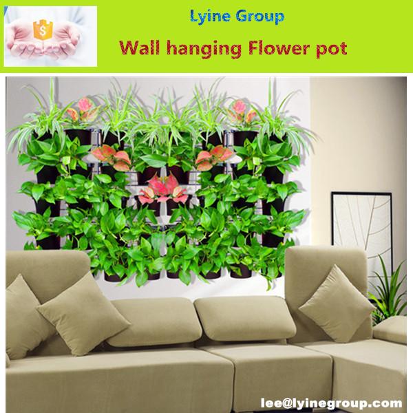 pp de plstico de pared colgantes macetas para plantas