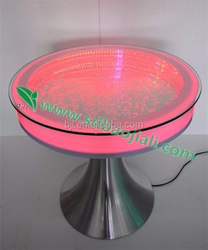 wholesale high fashion led light up bar table design, led light
