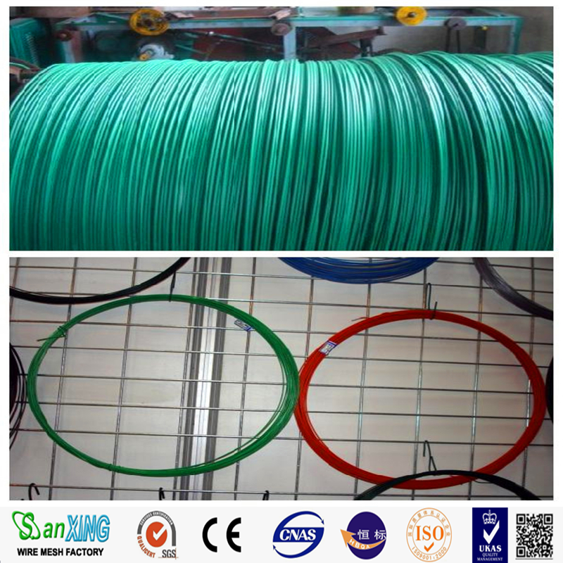 Pvc Coated Aluminium Wire/pvc Coated Binding Wire/pvc