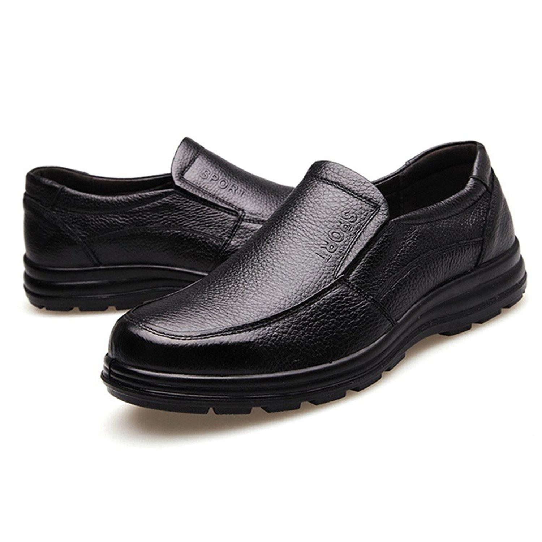 0f40789a9cbb Get Quotations · Jiyaru Mens Work Shoes Durable Restaurant Kitchen Chef  Flats Business Shoe