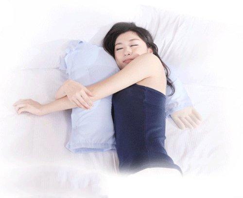 get quotations boyfriend pillownew slumberdown hand shaped luxury support pillownew boyfriend arm luxury support