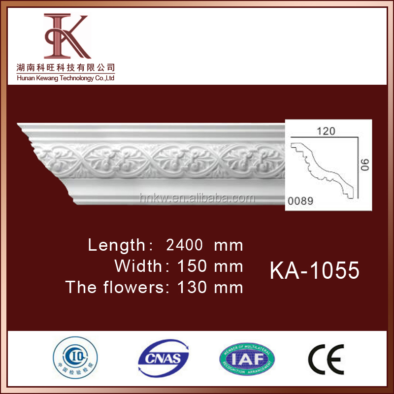 Selling Decorative Construction Ceiling PU Foam Mouldings For Beautiful Life