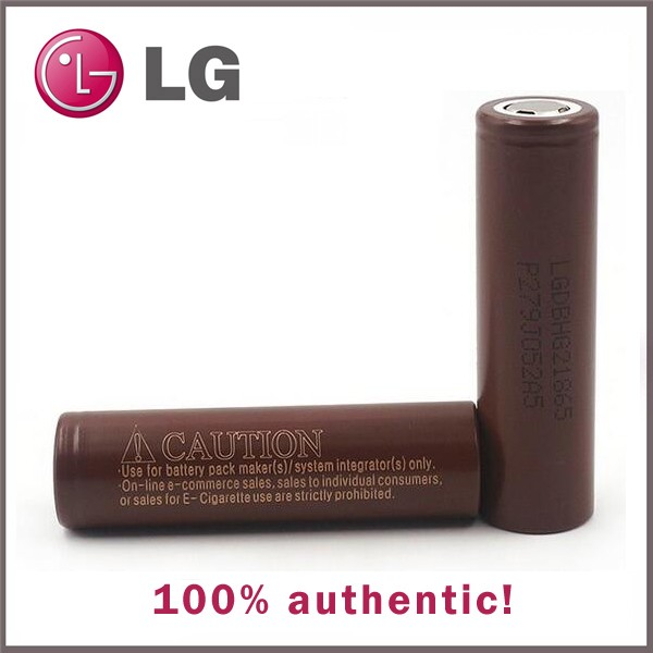 Original lg18650hg2 lg 18650 3000mah electronic cigarette battery, 18650 lg hg2 for vaping