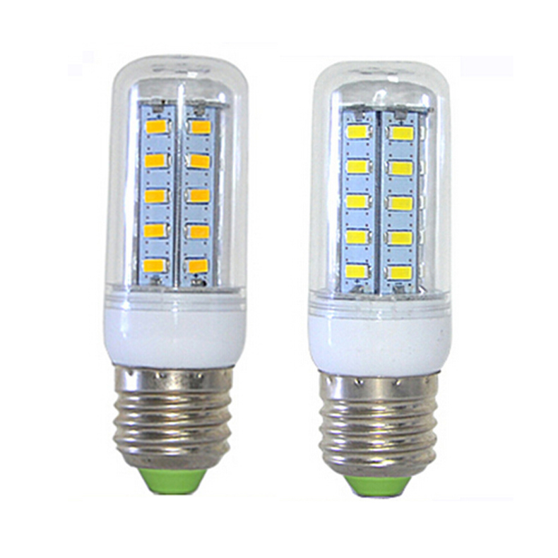 Led Corn Lights High Brightness 5W E27 36 LED 5730 SMD 220V Corn Light Bulbs LED Bulb E27  E2shopping