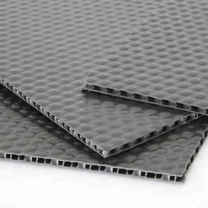 honeycomb and X type with or without fabric plastic sheet 5mm thick