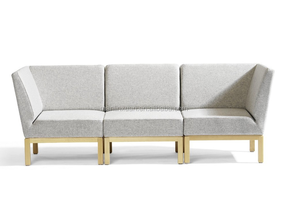 contemporary library sofa set left + 1 + right XY3401