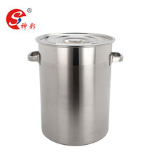 big stainless steel pot stainless steel soup barrel restaurant pot