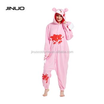 jinuo halloween christmas dress up party clothing bear adult animal onesie pajamas - Christmas Dress Up