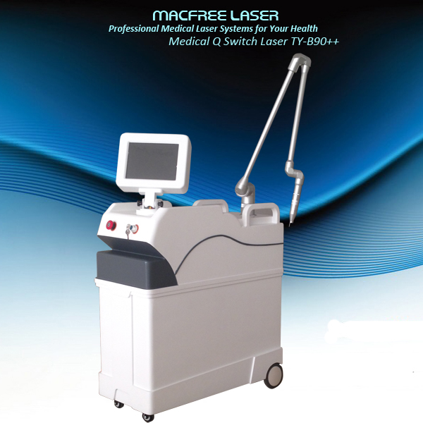 2016 Sanhe yag laser 1064/532nm q-switch/ nd / yag laser beauty device / tattoo laser removal