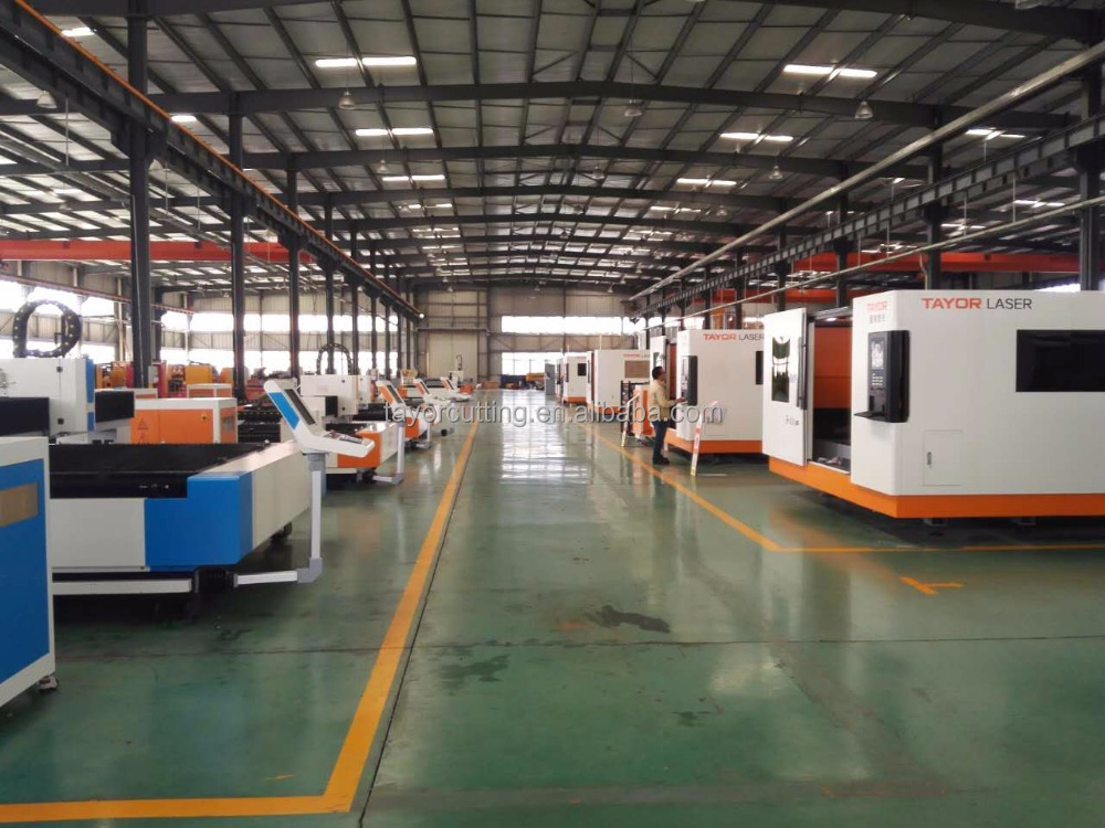 Fiber laser cutting machine from TAYOR