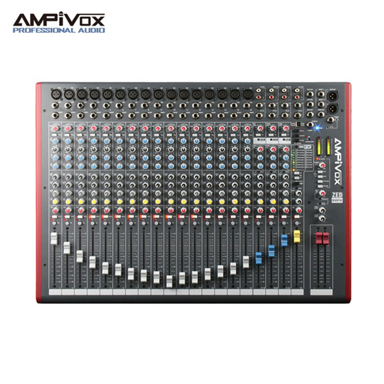 USB audio in/out stereo recordings production sound mixer equipment