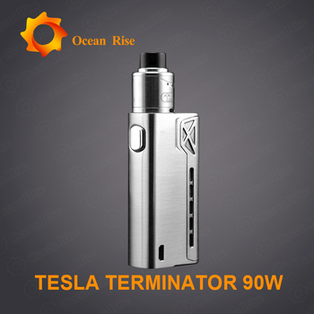 Stock Oferta Tesla Terminator 90 W Uno 18650 Batería De Alto Drenaje Vape  China - Buy Terbaik Mod Kotak Vape,Vape,Caja Mod Vape Product on Alibaba com