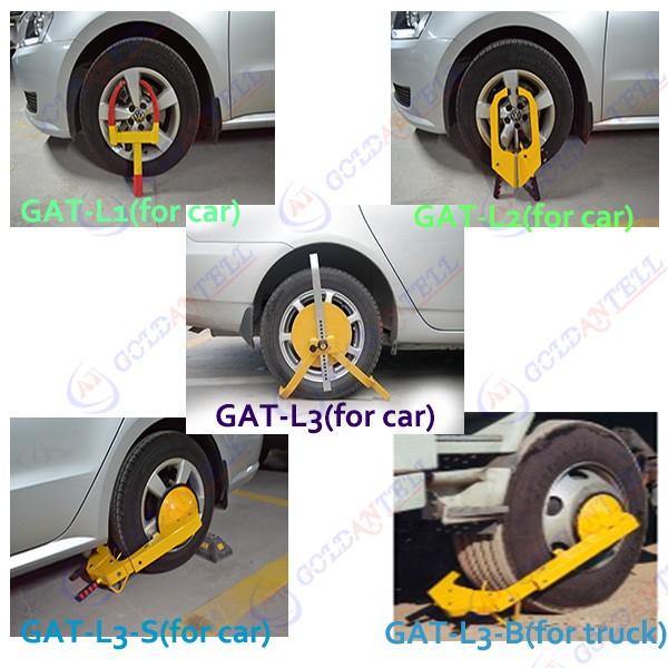 Antitheft Wheel Clamps For Trucks  Alarm Car Steering Wheel Lock