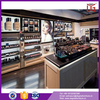 Modern Wooden Cosmetic Display Cabinet and Showcase