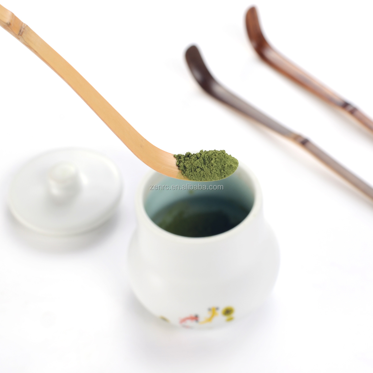 Super Handmade Natural Bamboo Matcha Scoop for Japanese Tea Ceremony