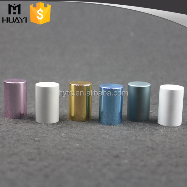 aluminum mixed color perfume cap