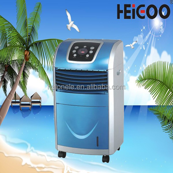 2015 Large Water Tank Capacity r Cooling Fan , Air Cooler Motor Winding, Air Conditioner Remote Control