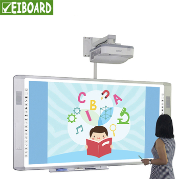 Cheap finger touch interactive electronic whiteboard writing smart board for school