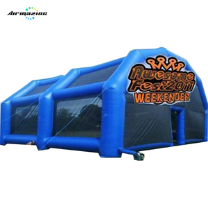 Inflatable large paintball bunker tent with custom logo