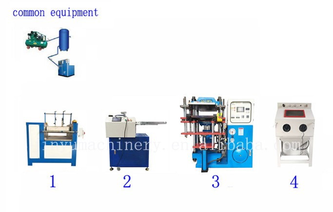 single color silicone production line