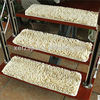 water absorbing non slip chenille carpet squares for stairs