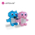 Cartoon DIY children's bag PVC colorful bear backpack