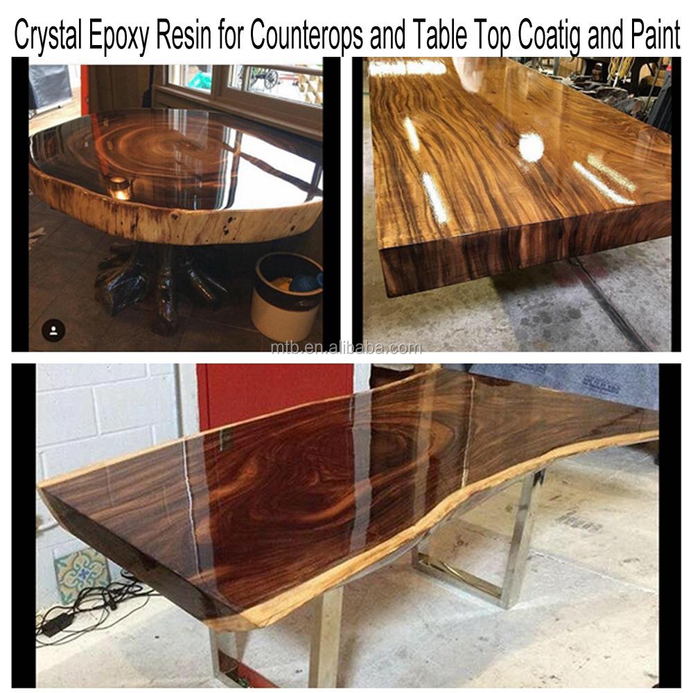 Resine Pour Peindre Meuble Bois résine Époxy liquide pour revêtement et peinture de couche