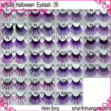 Popular Halloween color false eyelash ,fake eyelash ,eye lash
