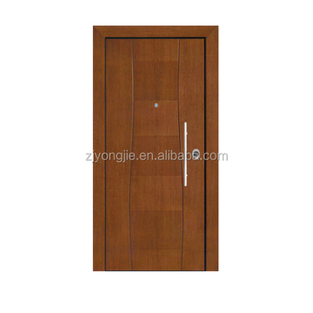 China Whole Steel Threshold Front Double Door Designs