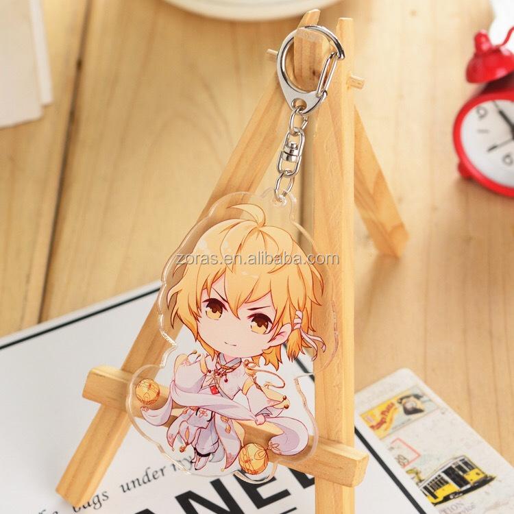 Acrylic Keychain Maker Monogram Anime Keychain with 2 Layers Acrylic Board