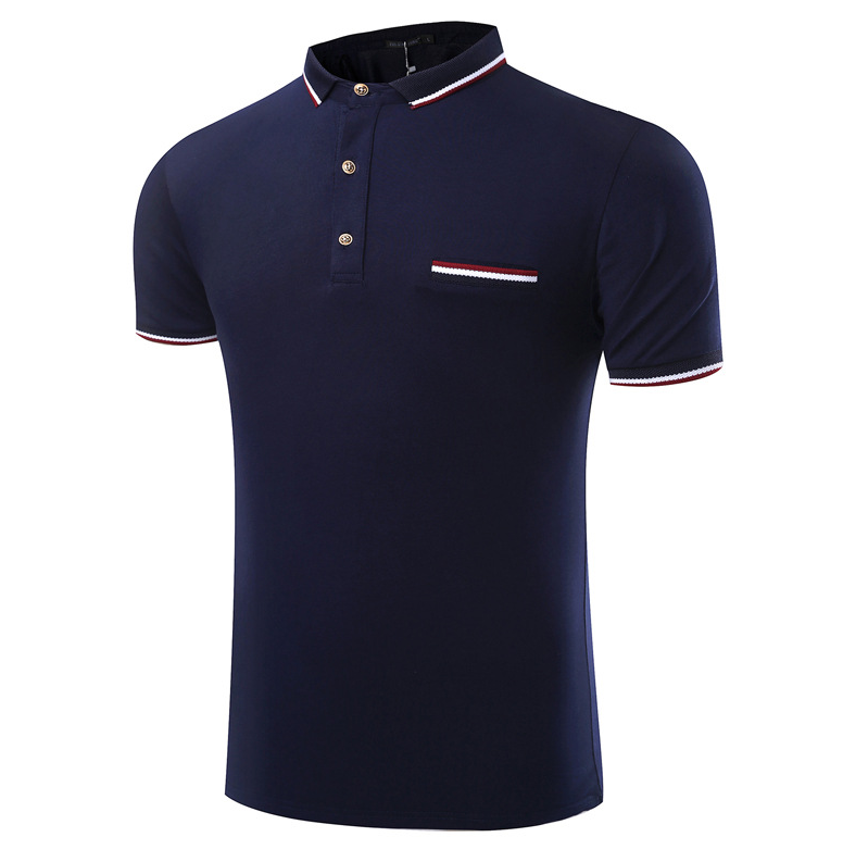 Guangzhou factory top quality latest shirt design for men custom t shirt printing wholesale china polo shirt